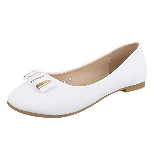 Ital-Design - Bailarinas Mujer Blanco - blanco