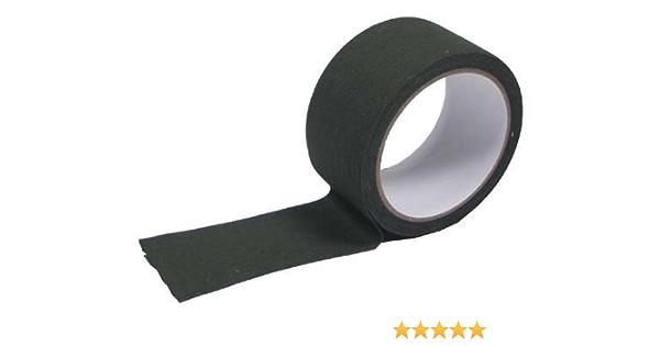 Cinta Adhesiva de Tela Verde 5 cm x 10 M: Amazon.es: Deportes y aire libre
