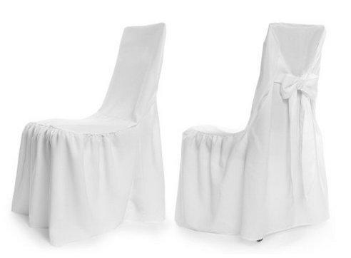 Universal Paris Chair Covers Set of 2–(Choice of Colours) cream TexDeko