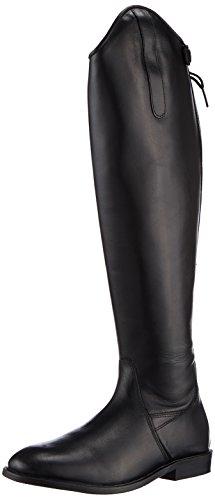 HKM–Botas de equitación Italy Soft Piel estándar de largo/ancho Negro - negro