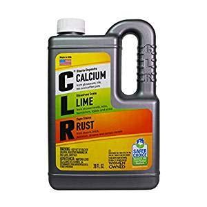 CLR Calcium, Lime & Rust Remover, Biodegradable, 28 Oz Bottle (1) ()