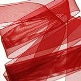 Red Organza ribbon 22mm 10m length by Pocketfold Invites