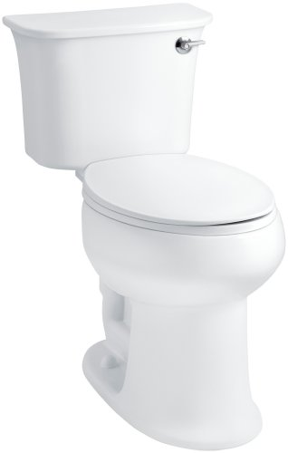 - STERLING 402077-RA-0 Stinson ADA Elongated Toilet Right Handle Flush, White