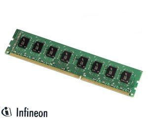 Infineon AET760UD00-30D PC2-5300 RAM 1 GB (667 MHz, DIMM 240-Pin, CL5) DDR2 SDRAM