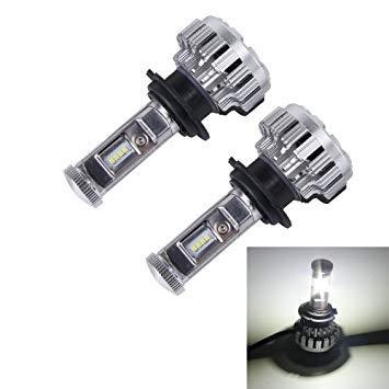 Uniqus 2 PCS H7 35W 3800lm 6500K Car LED Headlight with 8 CREE Lamps, DC 8-48V(White Light)