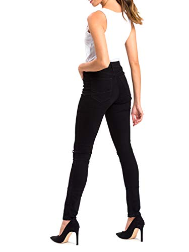 Jean Cross Femme Schwarz Natalia black Skinny 101 C0wT5q0