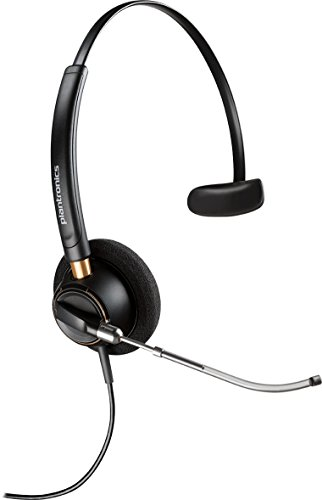 Plantronics 89435-01 Wired Headset, Black