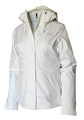 The North Face Women's Monarch Insulated Ski Triclimate 3 in 1 Winter Hooded Jacket (TNF White, M) ()
