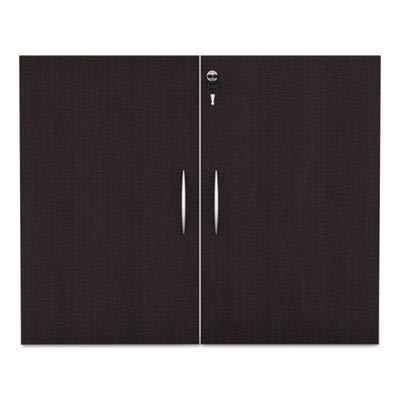 - Alera VA632832ES Valencia Series Cabinet Door Kit for All Bookcases, 31 1/4-Inch Wide, Espresso
