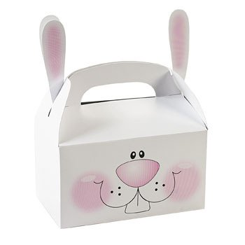 Paper Bunny Treat Boxes With Ears (pack of - Easter Box Treat