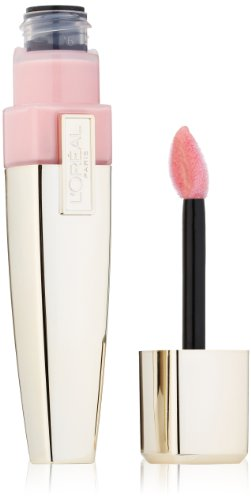 L'Oreal Paris Colour Caresse Wet Shine Lip Stain, Pink Perseverance, 0.21 (Lip Stain Gloss)