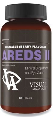 (AREDS 2 Chewables (berry flavor) 180 count - Eye Health - Age Related Macular Degeneration (ARMD))