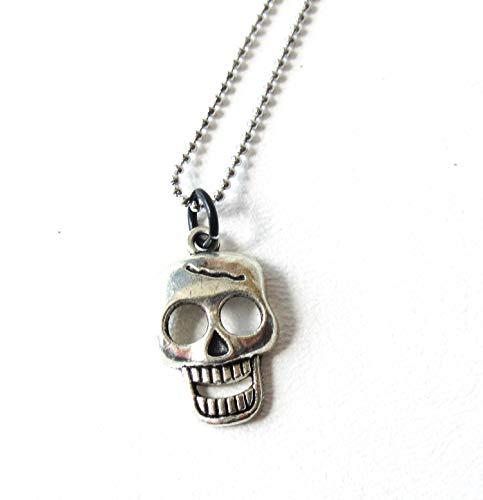 Cracked Skull Necklace -