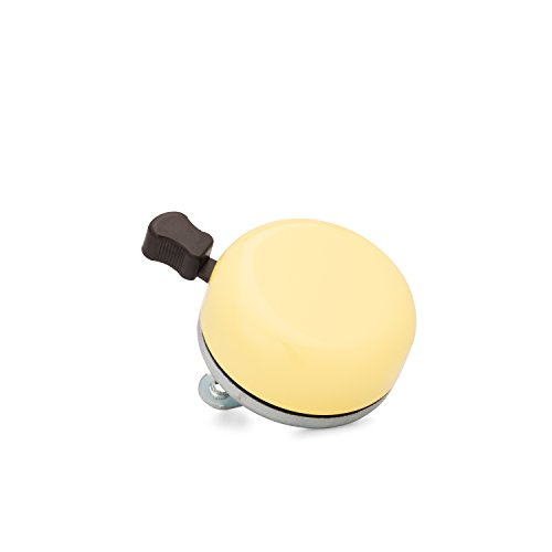 Kickstand Cycle Works Classic Bicycle Bell - Yellow