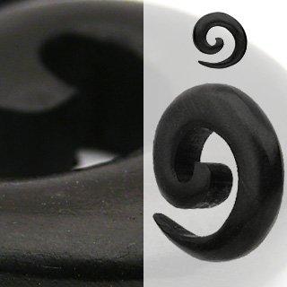 Abono orgánico Ébano Madera Espiral para Dilatación, 8 mm: Amazon.es: Deportes y aire libre