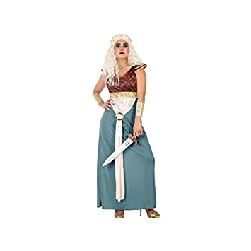 Atosa-53899 Disfraz Princesa, Color Celeste, XS-S (53899): Amazon ...