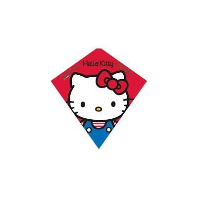 "Hello Kitty Poly Diamond Kite 23"" by SkyDiamond: Toys & Games"