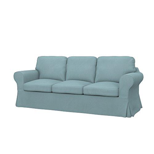 Soferia - IKEA EKTORP 3-seat sofa cover, Eco Leather Mint