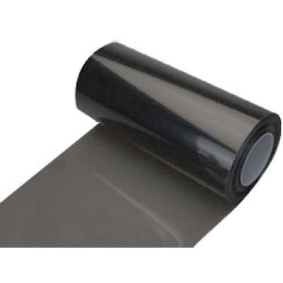 ZEEZ Vinyl - 20% Smoke Black-Out Vinyl Headlight Taillight Tints: Automotive