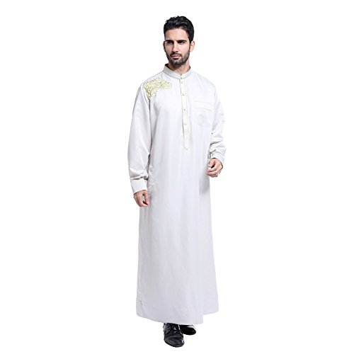 Cocohot Muslim Men Dress Big Abaya Muslim Dress Islamic for sale  Delivered anywhere in USA