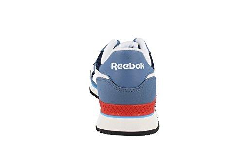 Coll Scarpe bianco Royal slate Sprint riot Red Navy wht rosso Sportive Blue Uomo Grigio Reebok blu crisp blu wEP10qxw