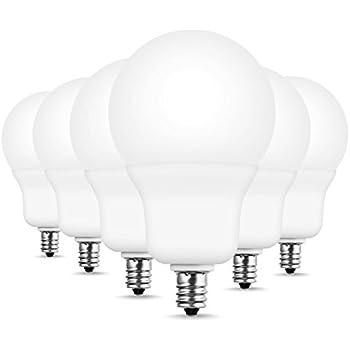 Jandcase 60w Equivalent Led Light Bulb E12 Candelabra 3000k Soft