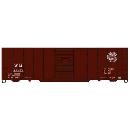 Accurail ACU3555 HO KIT 40' AAR Box, WM ()