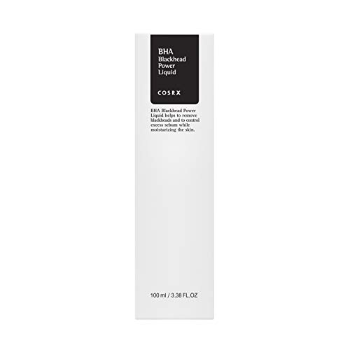 COSRX BHA Blackhead Power Liquid, 3.38 fl.oz / 100ml | Blackhead Remover | Korean Skin Care, Vegan, Cruelty Free, Paraben Free