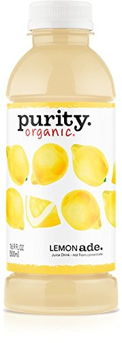 Purity Organic Juice Drink, Lemonade, 16.9 Ounce (Pack of 12)