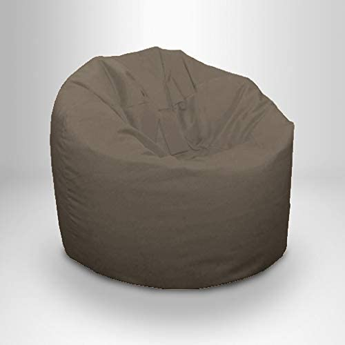 Ready Steady Bed Puff de Jardín Exterior | Puff para Terraza Exterior e Interiores | Diseño Ergonómico para SoporteCorporal | Resistente al Agua - Perdurable y Cómodo (Gris): Amazon.es: Jardín