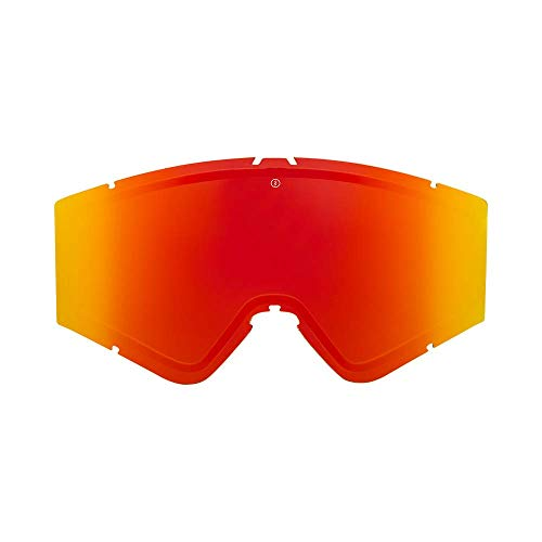 Electric Kleveland Lens Ski Goggles, Brose/Red Chrome