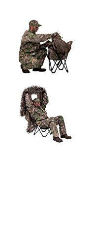 Ameristep Gunner Hunter 3-D Chair and 3-D Cover System, Realtree Xtra Green by Ameristep (Image #2)