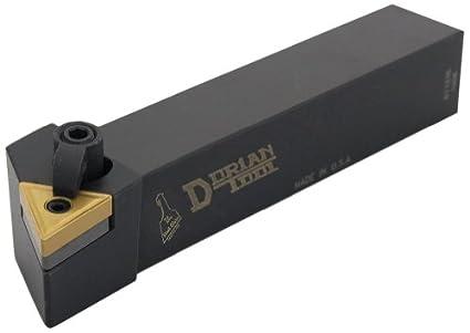 Dorian Tool MTJN Square Shank Multi-Lock Turning Holder Right Hand Cut 1-1//4 Shank Width 1-1//4 Shank Height 5//8 Insert 6 Overall Length