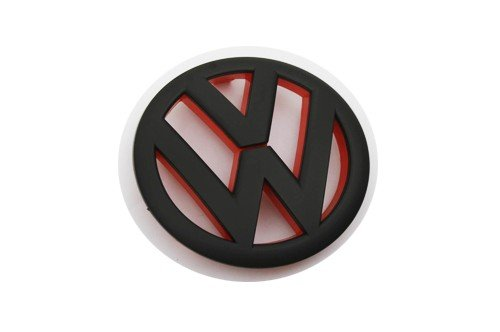 ck Red Inlay Front Grille Emblem For VW Golf MK6 1.4T 2.0T GTI TDI by autobizpro (Vw Golf Tdi)