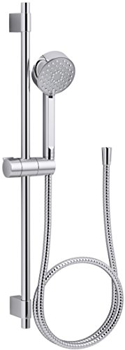 Kohler K-98361-CP Awaken G90 Multi-Function Handshower with Slide Bar Kit, Chrome,