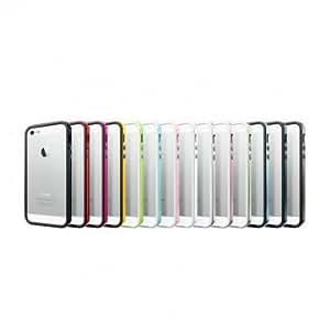Fashion Ultrathin Silicon Plastic Bumper Case For iPhone 5 --- Color:Sky Blue