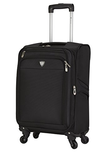 "Travelers Club 18"" 4 Wheel Spinner Carry-On Luggage"