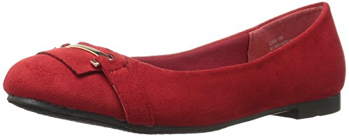 Annie Shoes Womens Erin Ballet Flat Red prceho