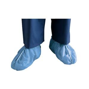 Cardinal Health - Med 554854 Fluid-Resistant Dura-Fit, Anti-Skid Sms Shoe Covers, X-Large,Cardinal Health - Med - Box 100
