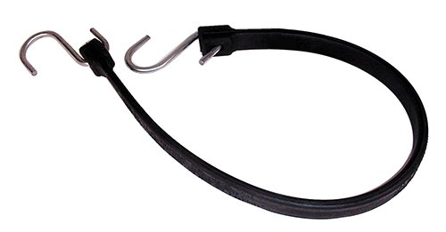 Keeper Rubber Strap Black 24 Inch - 06224