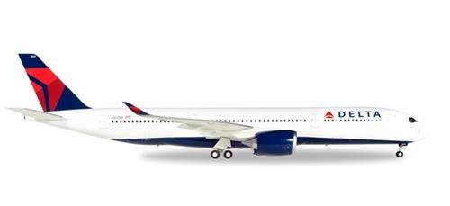 Herpa 558815 Delta Airlines Airbus A350-900 XWB 1:200 Scale REG#N501DN