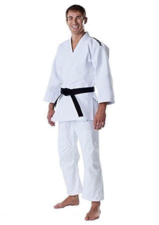 Judo GI Competición Traje, Slim Fit antimosquitos, color blanco ...
