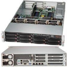 Supermicro SuperChassis 2U Rackmount Server Chassis CSE-823TQ-653LPB Black