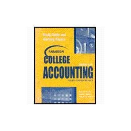 Paradigm College Accounting Chapters 19-26 (Chapters 19-29)