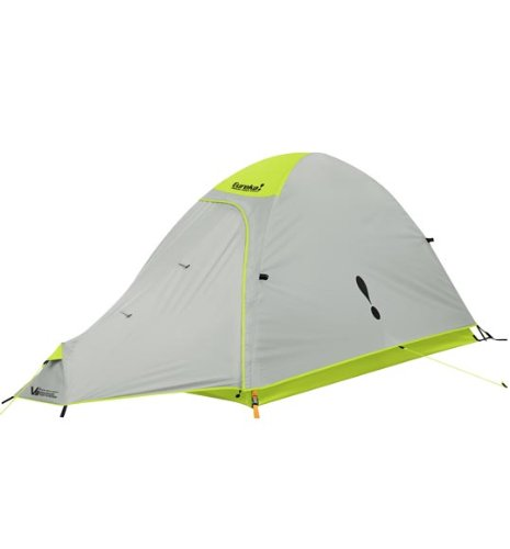Eureka Amari Pass Solo 1 Person Tent Lime Punch/Mineral Grey, Outdoor Stuffs