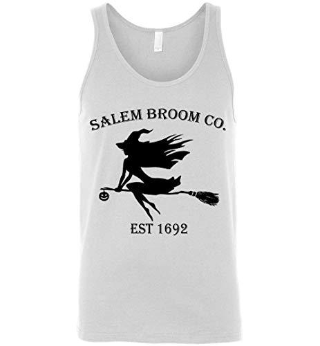 Halloween Salem Broom co est 1692 Gift Idea Tank Top