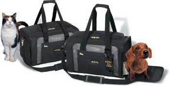 Sherpa 11721 Delta Pet Carrier, Medium, Black, My Pet Supplies