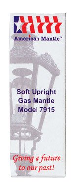 American Mantle Upright Gas Light Mantle
