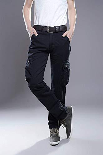 Noir De Air Eau À She Ranger Réchauffement Pour Hommes cargo Vêtements Décontracté Coton Travaux Fit Divers Plein Pantalon Lâche Poche HZWqCAc