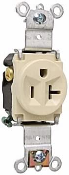 LOT OF 10 PASS AND SEYMOUR SINGLE RECEPTACLE 5361-I